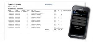 Nopsa system - driver's logbook